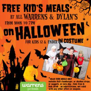 Kids Halloween Warrens