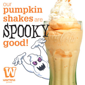 Pumpkin Shakes