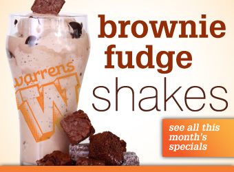 brownie fudge shake