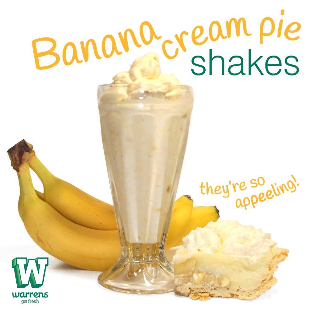 banana cream pie shake